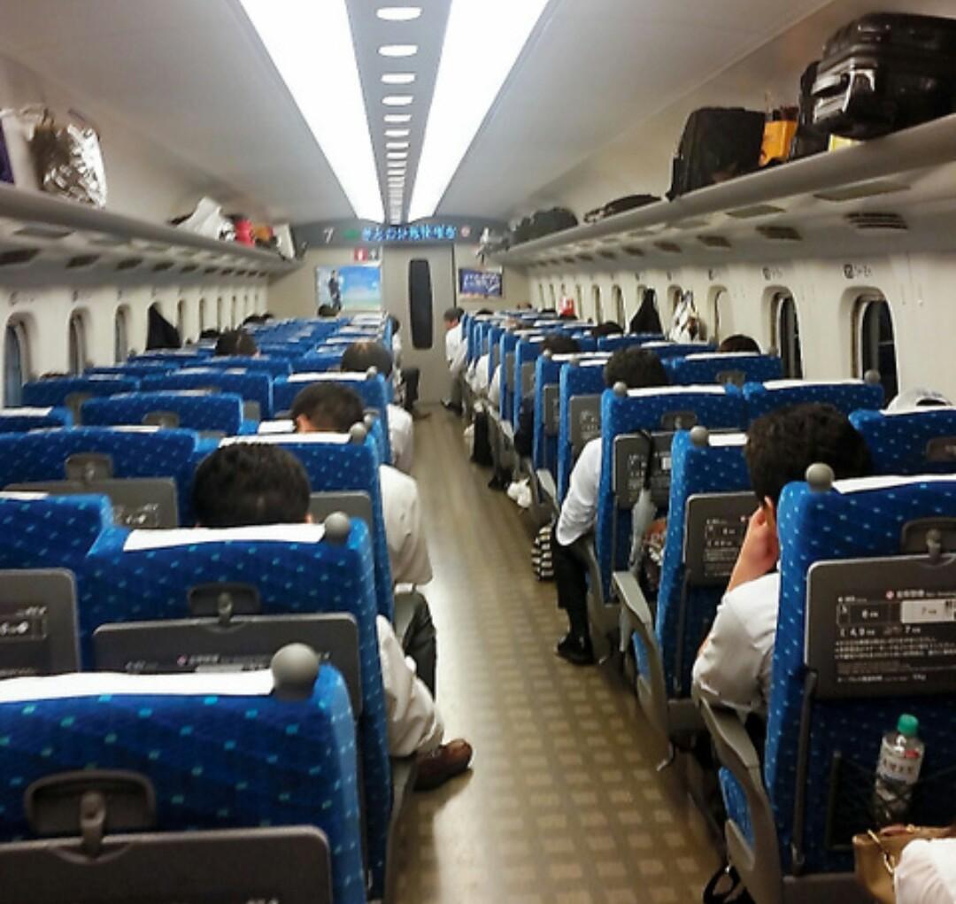ホテル「新幹線」