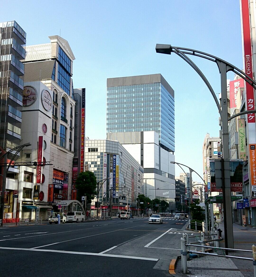 朝の御成街道