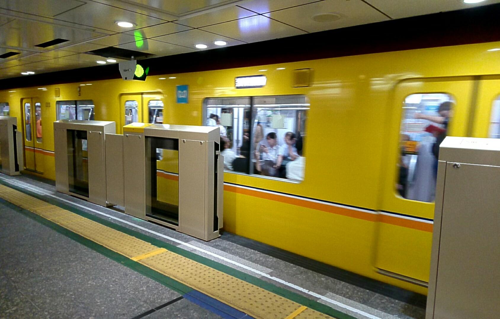 銀座線上野駅
