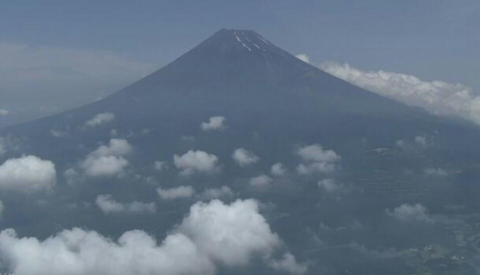 富士山頂の鳥居
