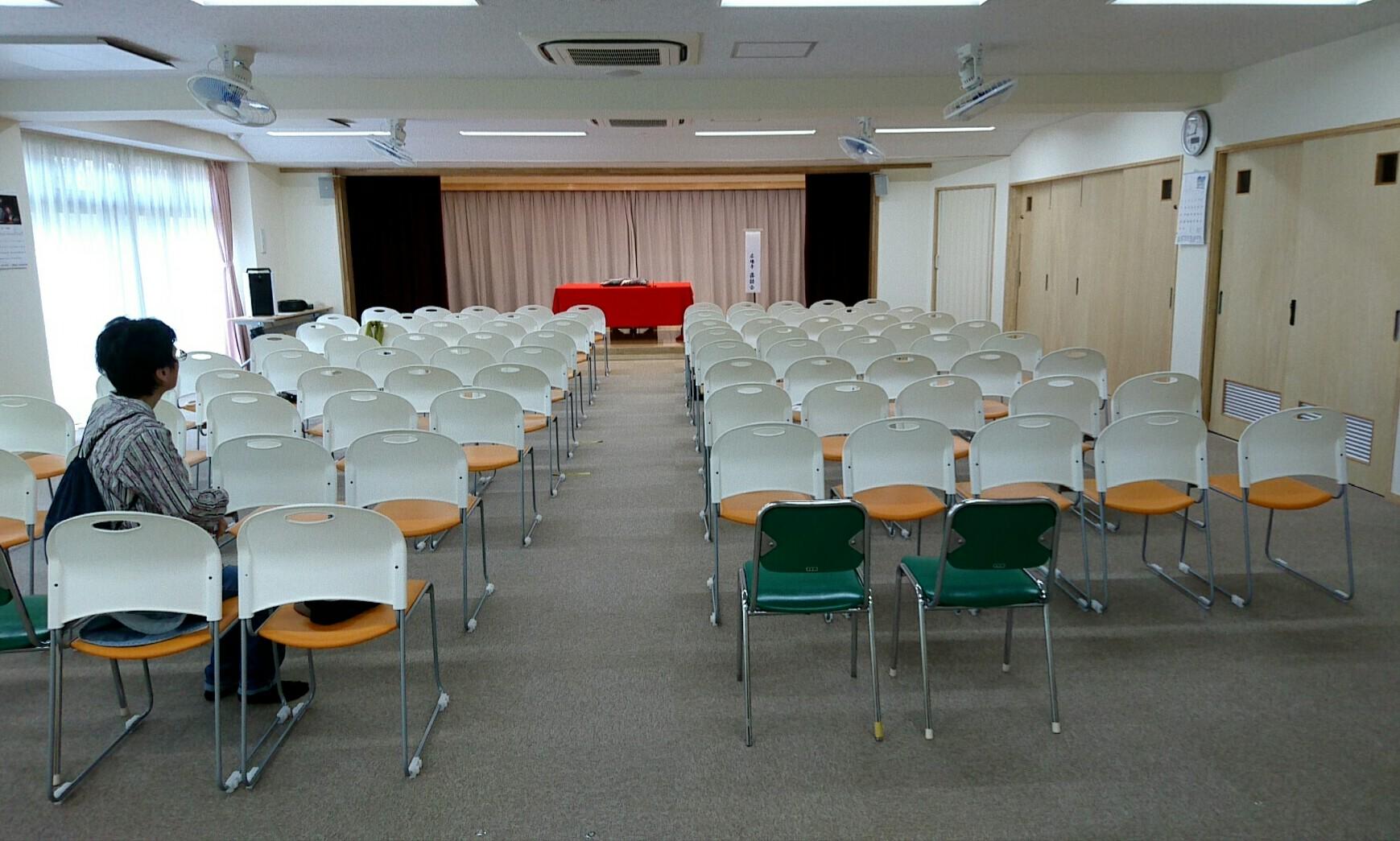 広場亭落語会の会場