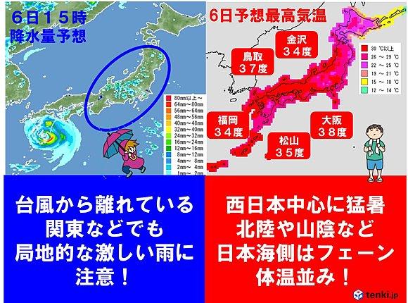 大阪38度?