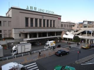 上野駅のこと