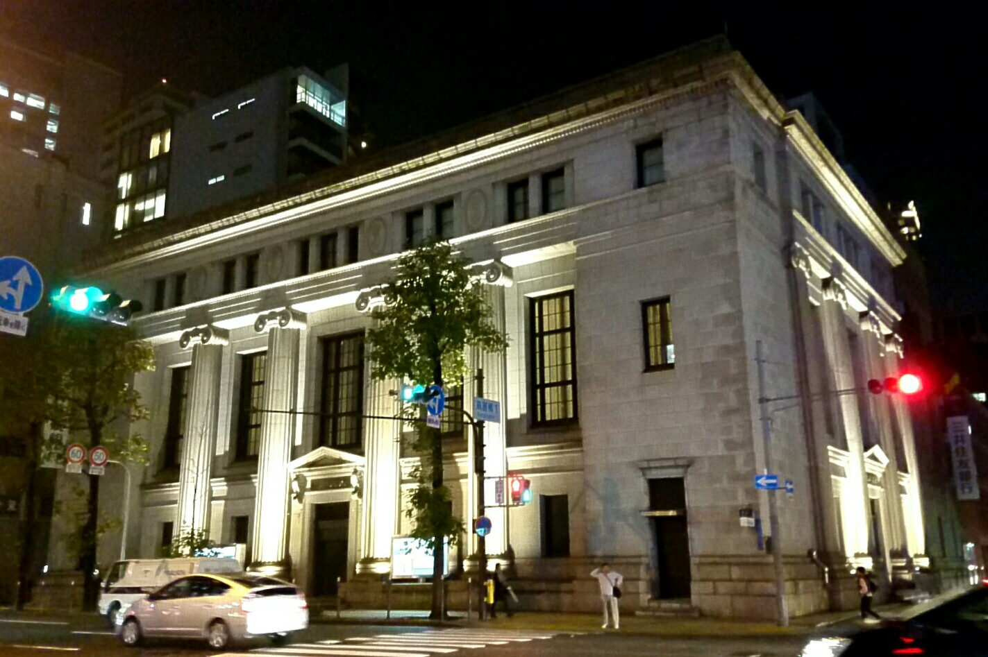 黄昏の大阪