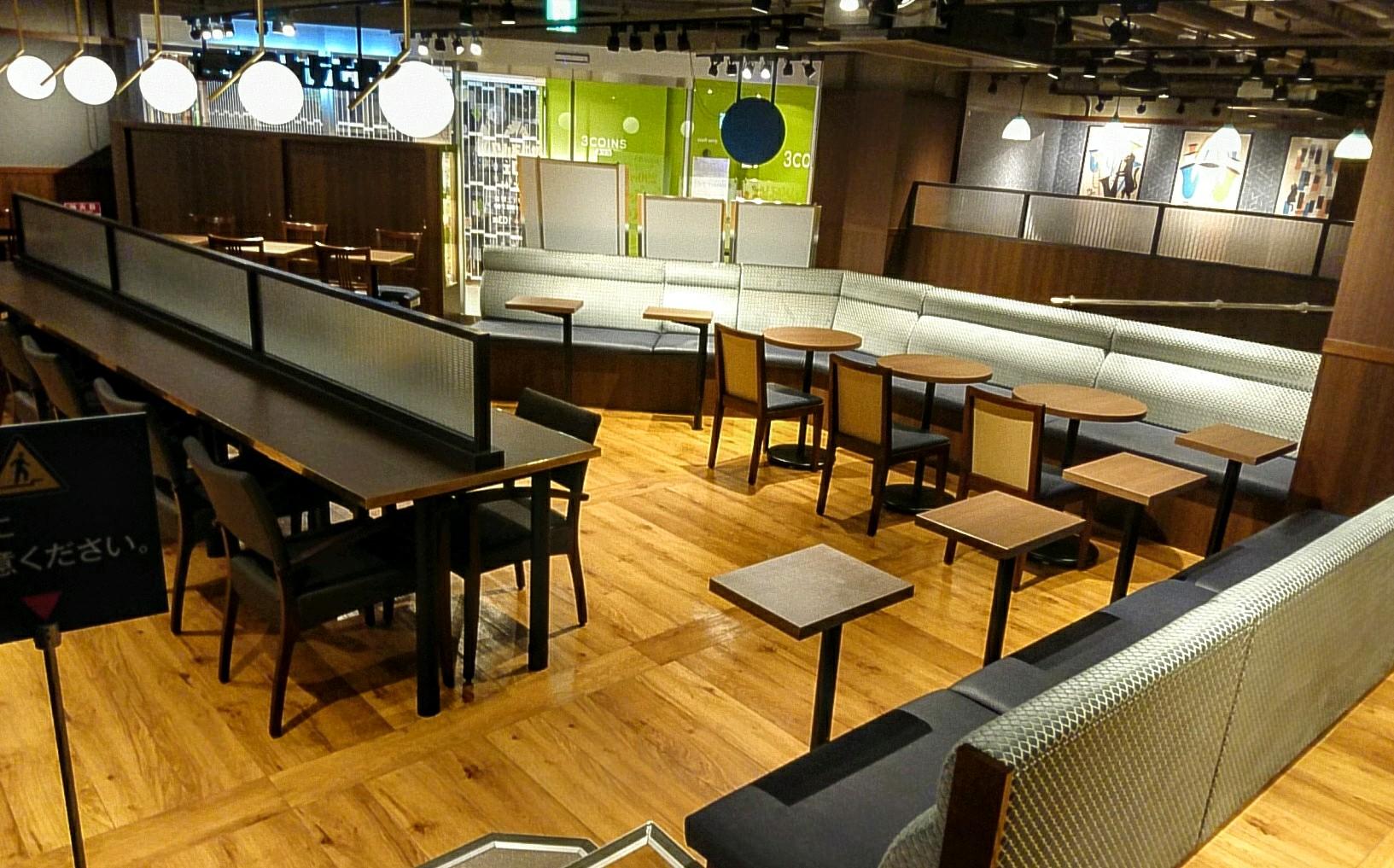 上野駅なかカフェで