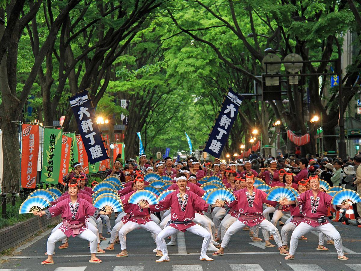 仙台・青葉祭り