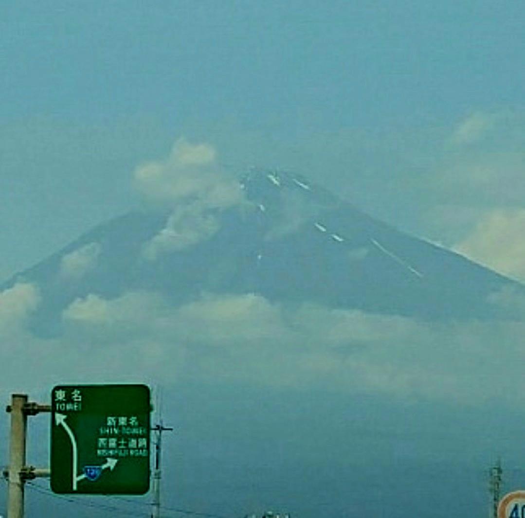 何とか今日の富士山