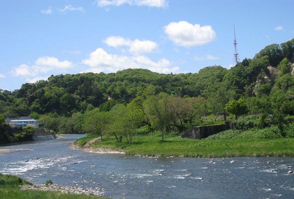 広瀬川・・・