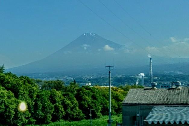 新富士近くからの富士山
