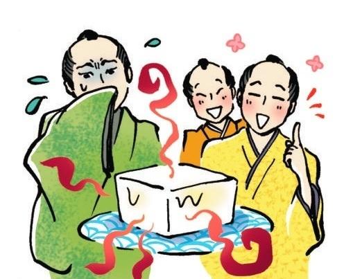 「ちりとてちん」と「酢豆腐」