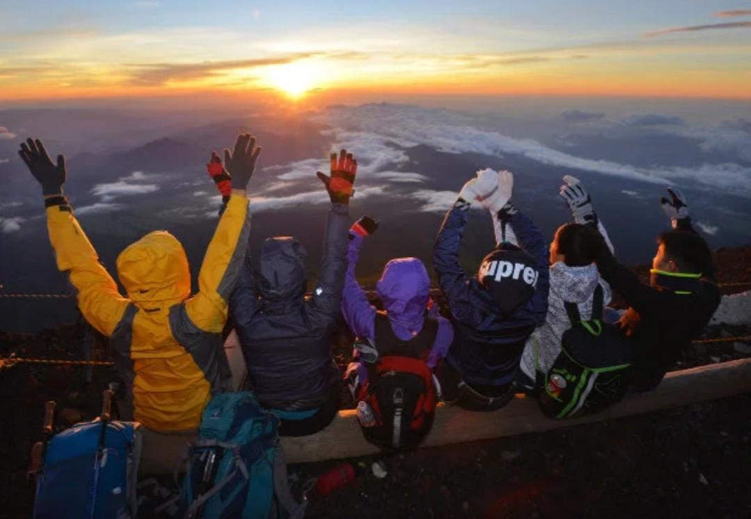 富士山山開き