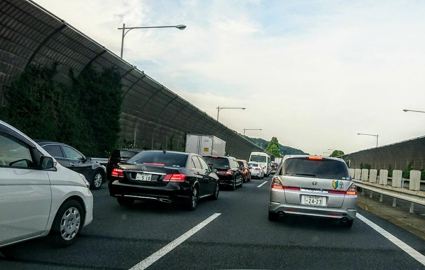 事故渋滞3時間以上