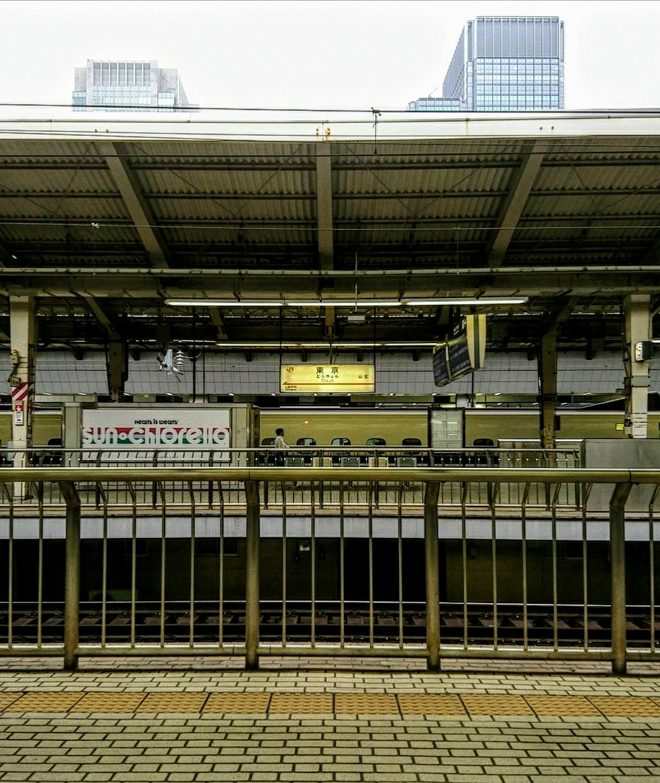 東京駅ホーム