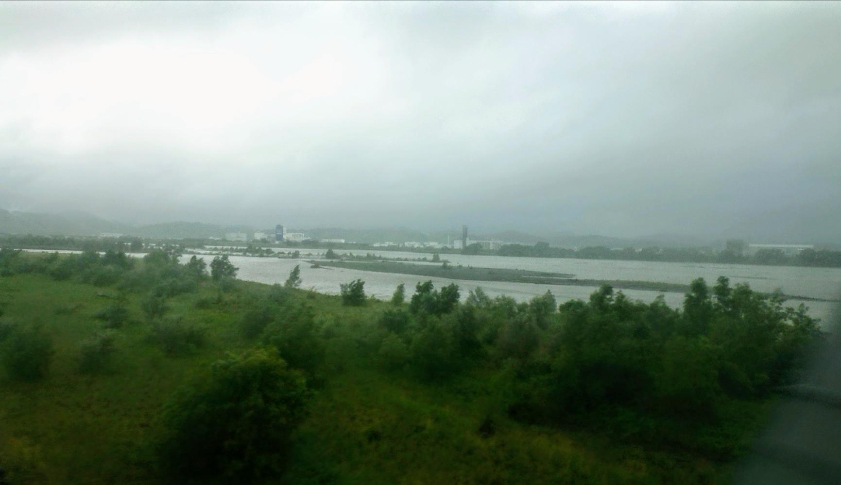 大井川辺り