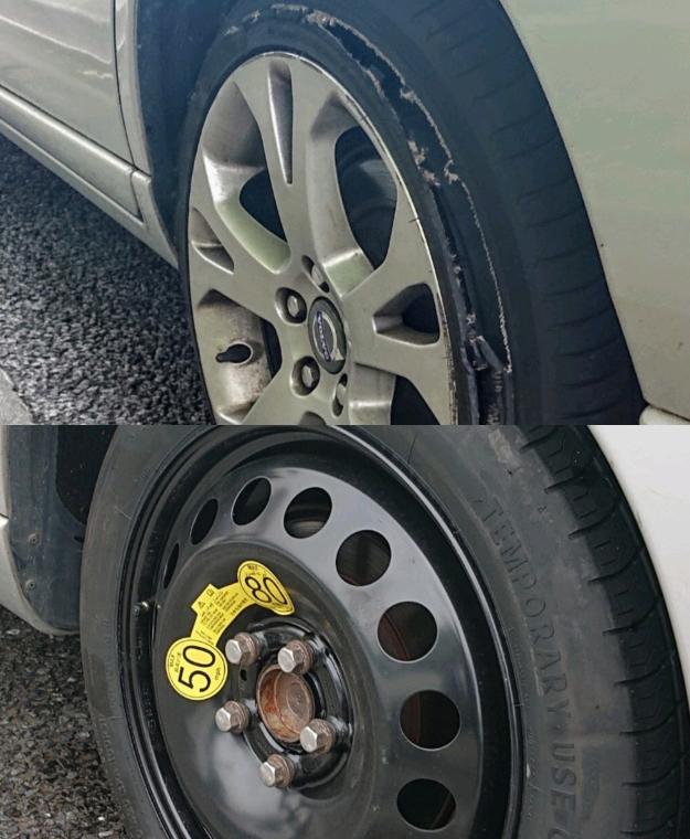 タイヤの交換