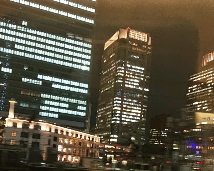 東京に戻って
