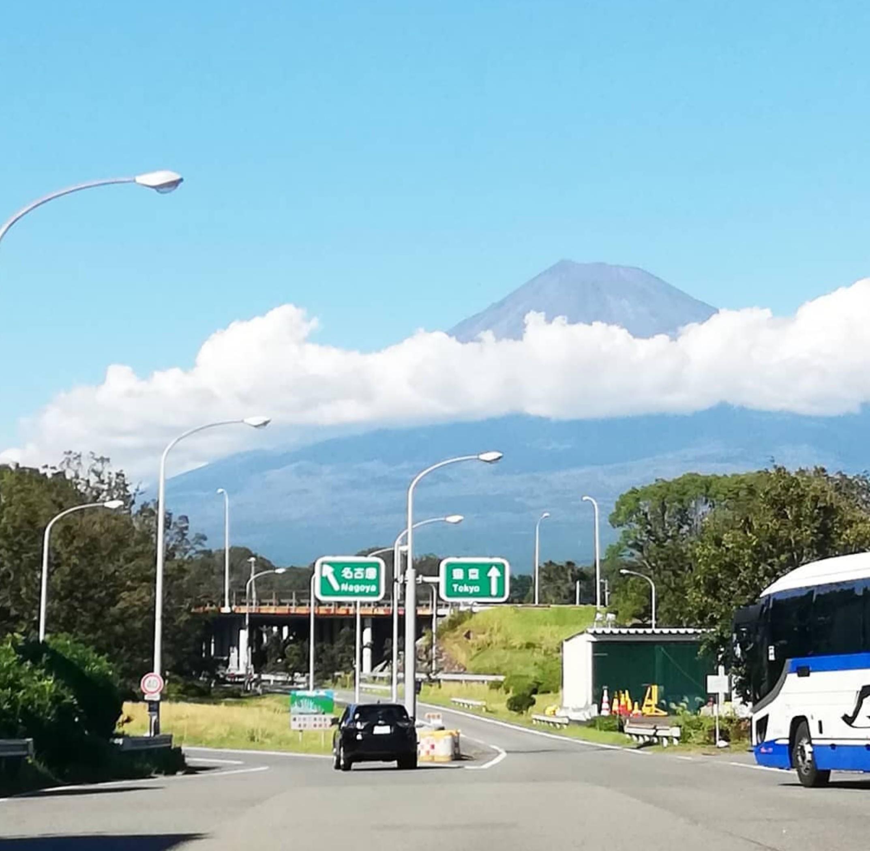 今日の午後の富士山