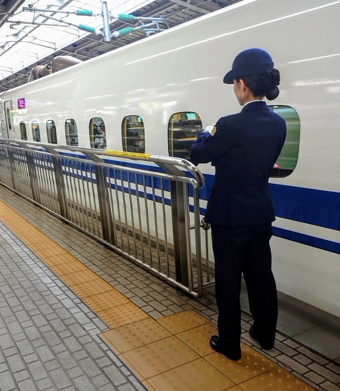 新大阪駅で