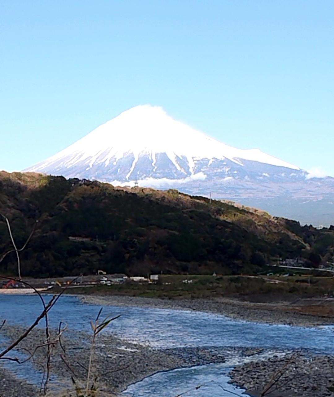 午後の富士山