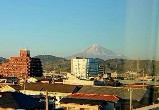 静岡からの富士山