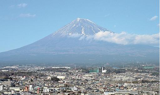 富士山が見えた日数