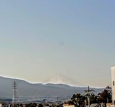 小田原からの富士山
