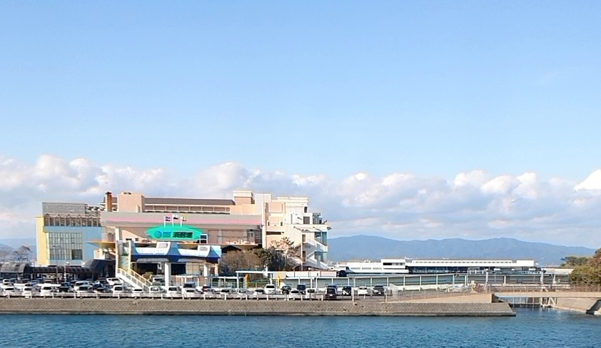 浜名湖通過