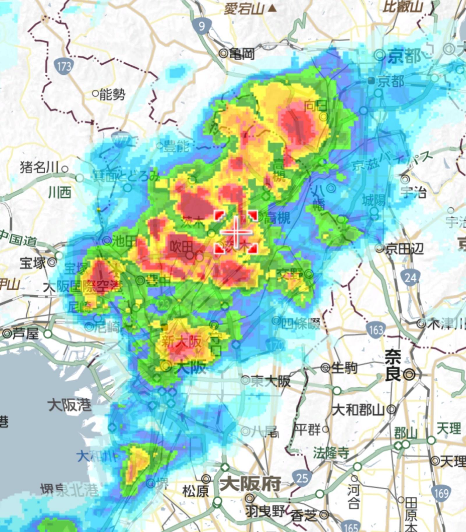 天気 大阪 の 明日